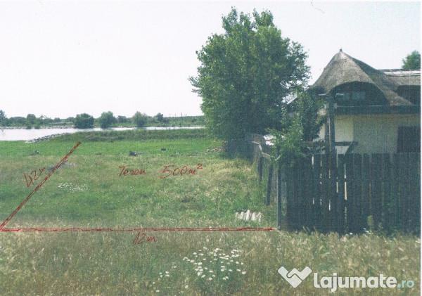 Vanzare  terenuri constructii  500 mp Tulcea, Maliuc  - 10000 EURO