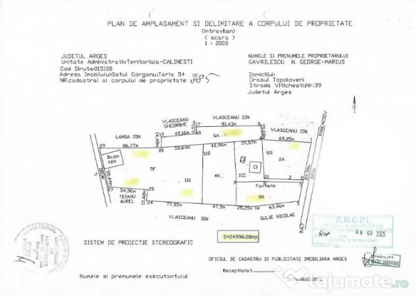 Vanzare  casa  3 camere Arges, Glodu (Calinesti)  - 390000 EURO