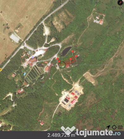 Vanzare  terenuri constructii  2500 mp Sibiu, Arpasu de Sus  - 137500 EURO