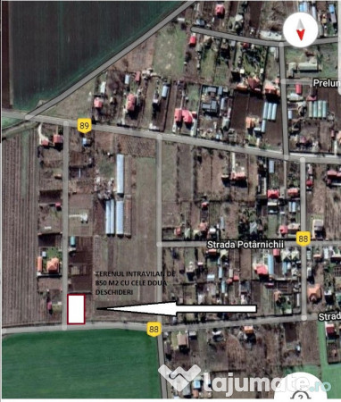 Vanzare  terenuri constructii  850 mp Constanta, Ovidiu  - 40000 EURO