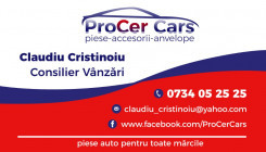 PROCER CARS Piese Auto