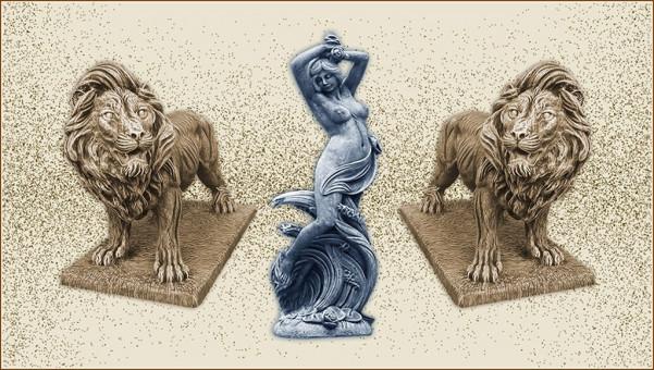 stalpisori si statuete